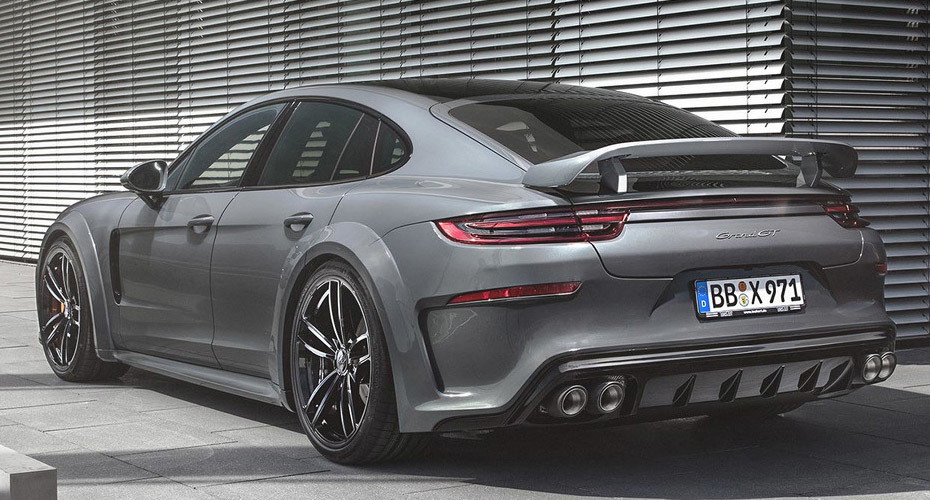 Обвес Techart GrandGT для Porsche Panamera 971 2017+