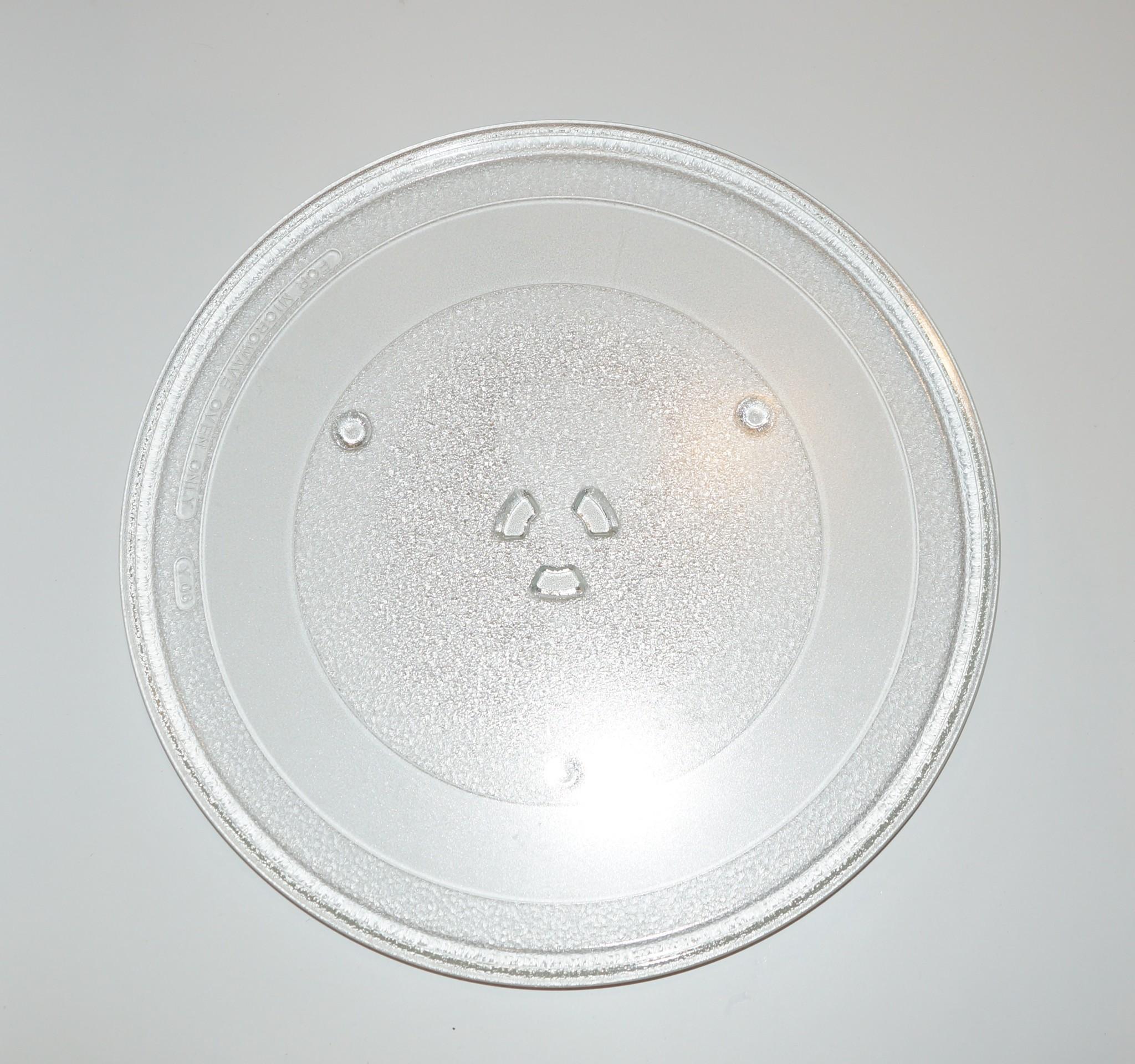 Тарелка (блюдо) для микроволновки Samsung D-345мм. DE74-20016Ac креплениями под коуплер