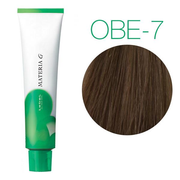 Lebel Materia Grey OBe-7 (блондин оранжево-бежевый) - Перманентная краска для седых волос