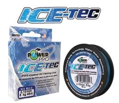Леска плетеная POWER PRO Ice-Tec 45м синяя 0,13 8кг