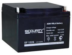 Аккумулятор Security Force 12V/26A