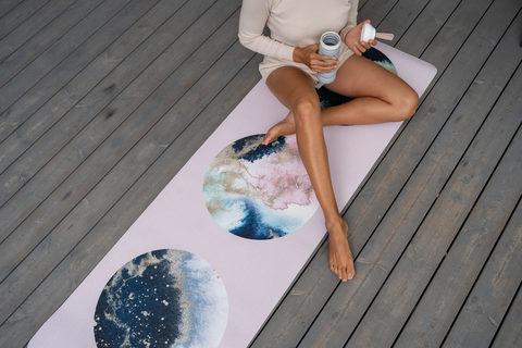 Коврик для йоги Dream из TPE 183*61*0,6 см