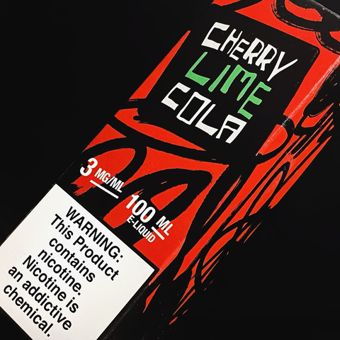 Cherry Lime Cola by Juice Man