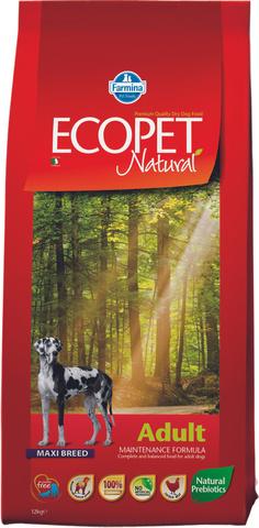 Farmina Ecopet Natural Adult Maxi Сухой корм для собак крупных пород с курицей