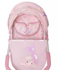 DeCuevas Коляска для куклы с сумкой серии Фантазия океана, 56см (86041)
