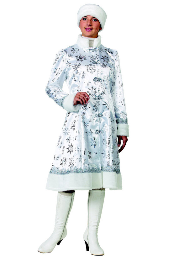Снегурочка сатин белая (д/взр)