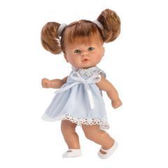 ASI Кукла-пупсик в голубом платье, 20 см (114650)