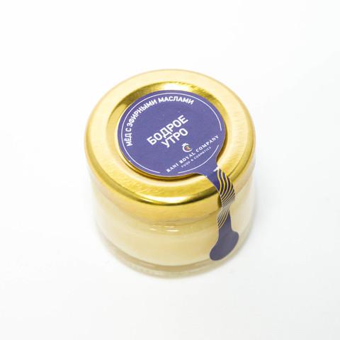 Мёд с эфирными маслами «Бодрое утро» 30 г