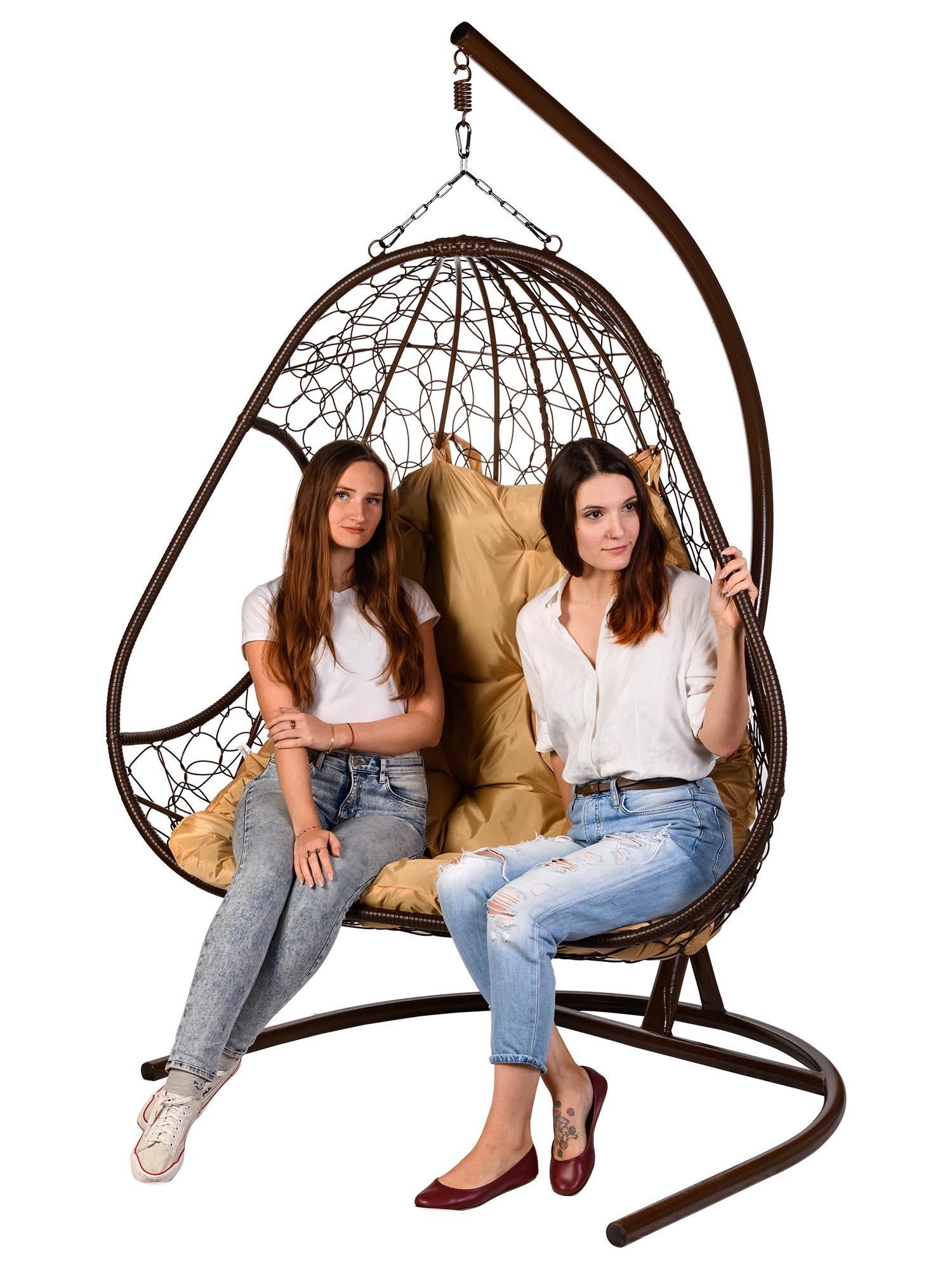 Подвесные кресла Двухместное подвесное кресло PRIMAVERA BROWN Primavera_Brown__1_.jpg