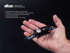 Фонарь налобный Fenix HМ50R 500lm аккумуляторный