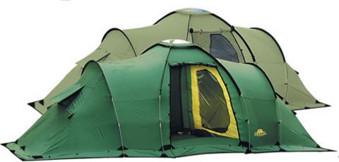 Картинка палатка кемпинговая Alexika Maxima 6 Luxe  - 1