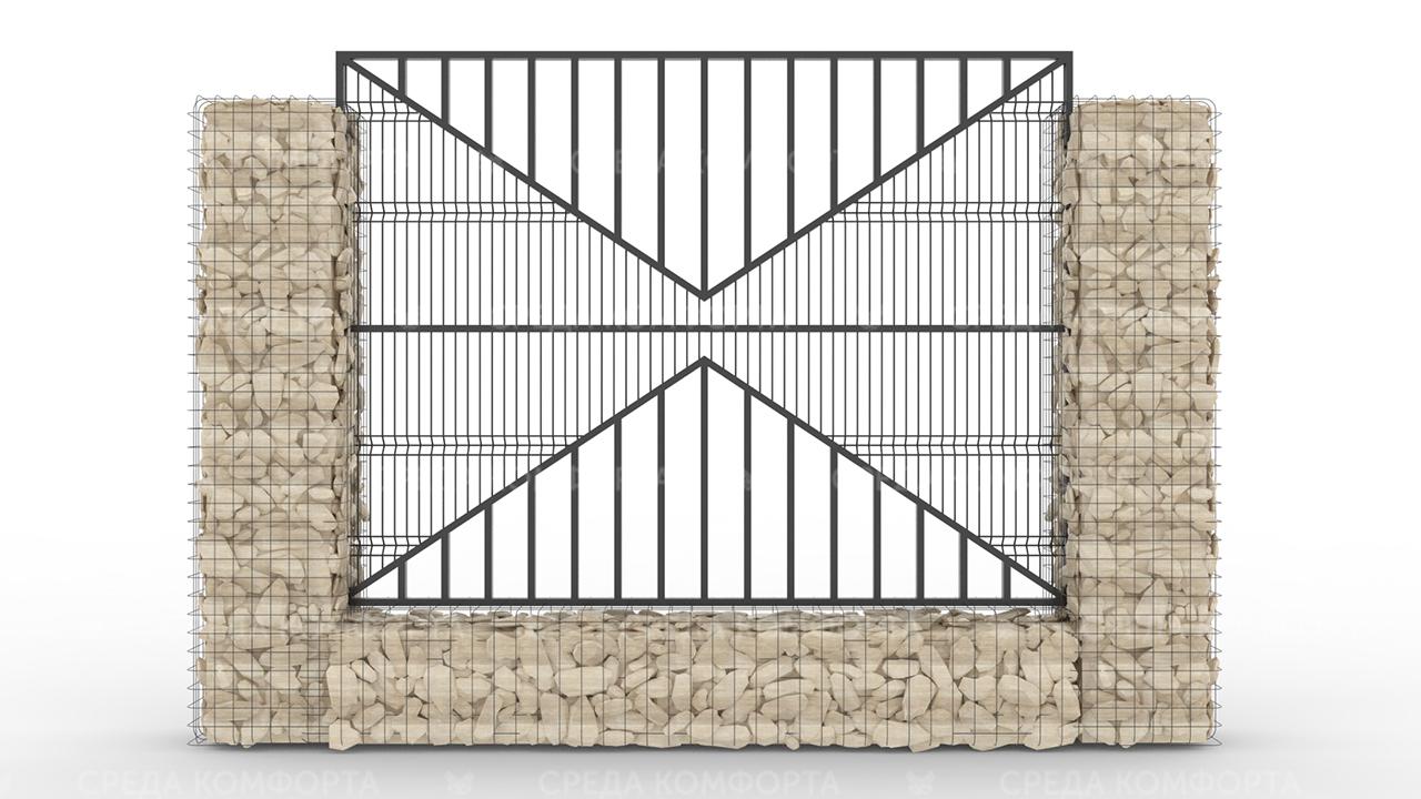 Забор 3Д ZBR0079