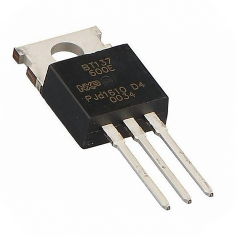 Симистор BT137-600E,127 (8А, 600В, 10мА)