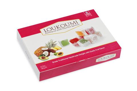 Лукум с экзотическими фруктами Candianuts 160 гр