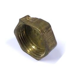 Заглушка латунная  1 с внутренней резьбой