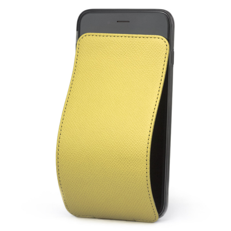 Чехол для iPhone 6/6S Plus из натуральной кожи теленка, желтого цвета