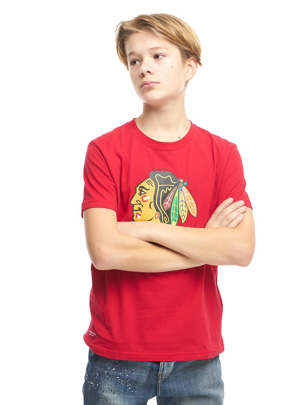 Футболка NHL Chicago Blackhawks (подростковая)