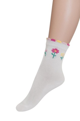 Носки для девочки Цветочки Parasoks
