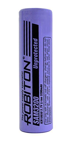 аккумулятор Robiton LiSAM3200 без защиты (Samsung ICR18650-32A)