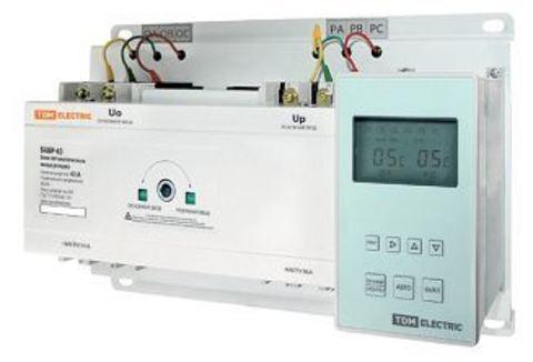 Блок автоматического ввода резерва БАВР 3П 250/250А TDM