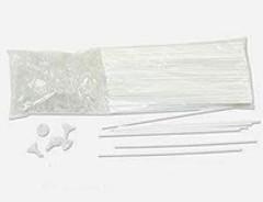 Держатель с насадкой микро для шара (25см), 100 шт.
