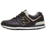 Кроссовки Мужские New Balance 574 Premium Leather Brown White