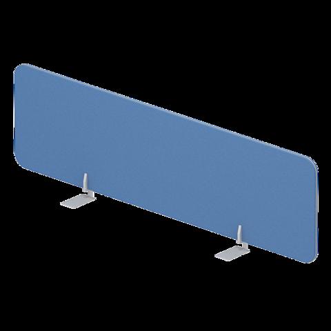 Экран тканевый настольный фронтальный для отдельного стола