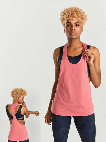 Удиненная майка женская для йоги и фитнеса Performance