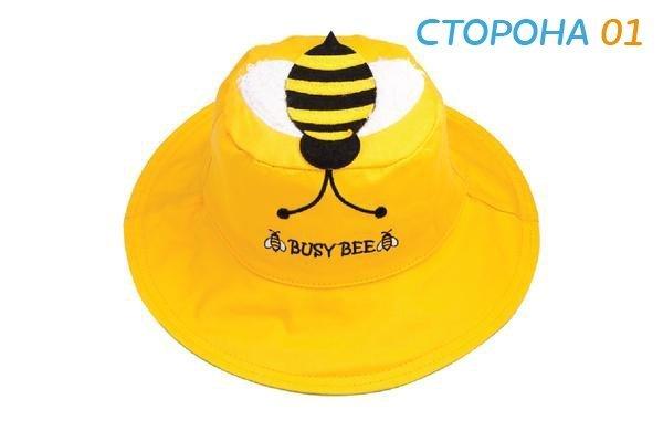 Панама Flapjackkids Пчела/Червяк (Bee/Worm LUV0104S) S (0,5-2). Арт. 20400