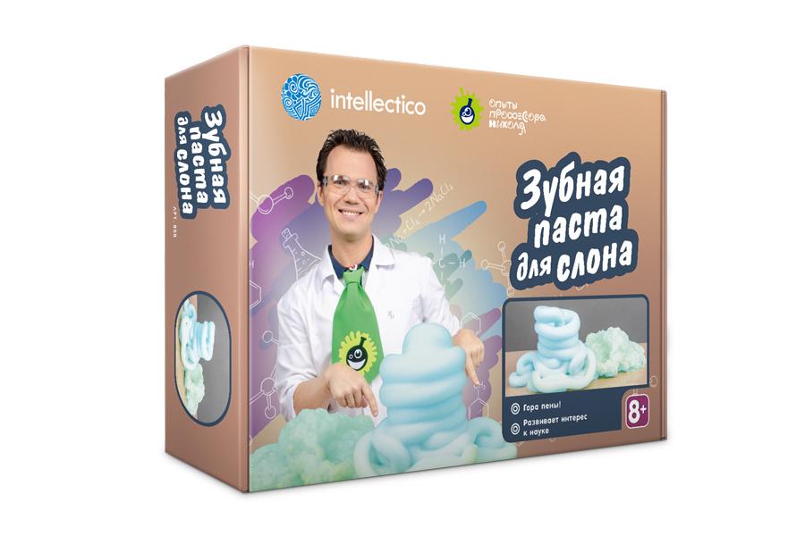 """""""Зубная паста для слона"""" набор для экспериментов"""