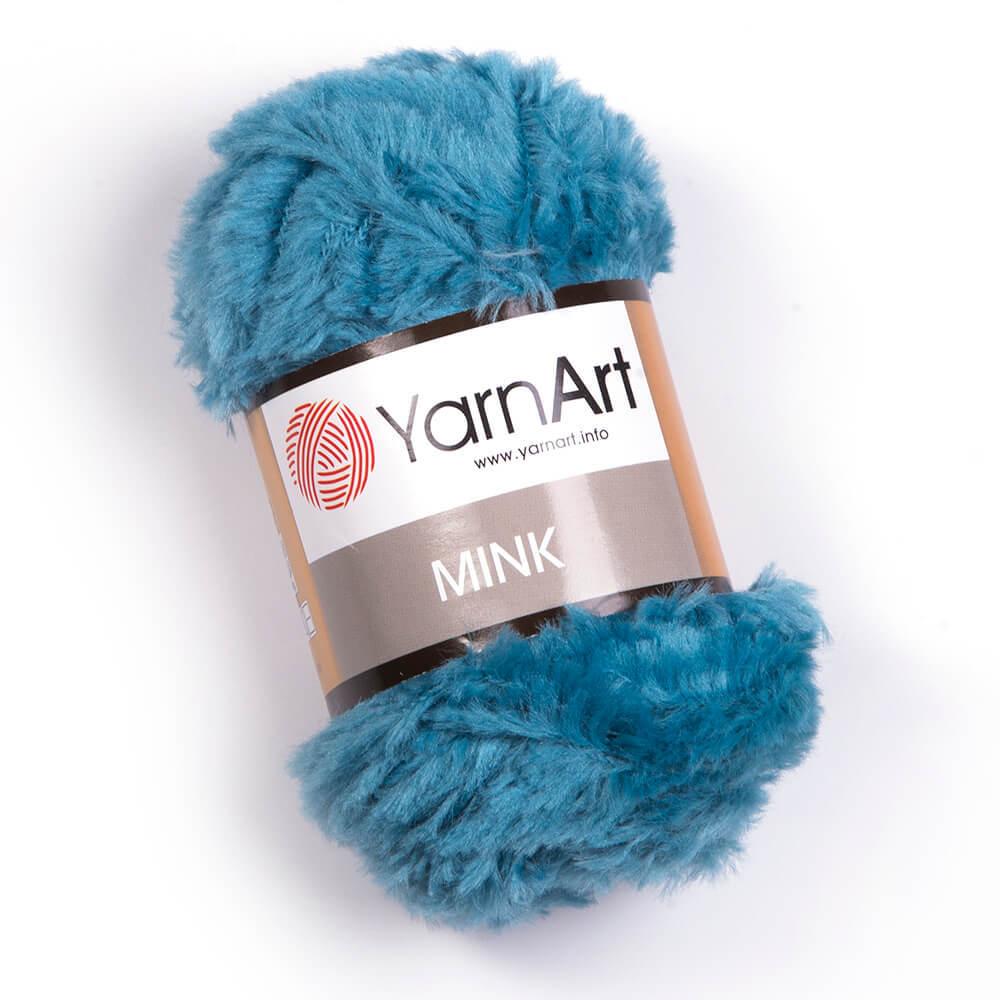 Пряжа YarnArt Mink 349 голубая бирюза