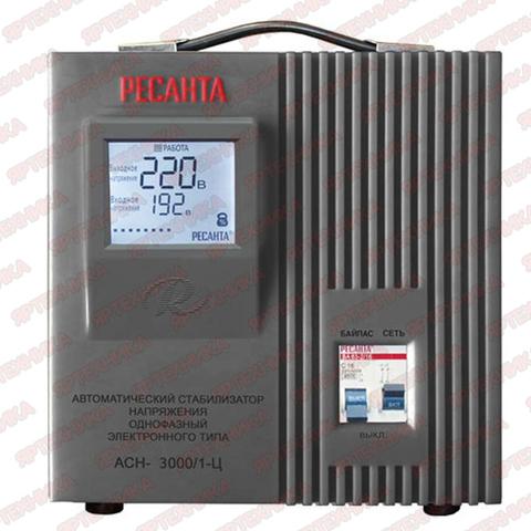 Стабилизатор АСН-3 000/1-Ц Ресанта в интернет-магазине ЯрТехника