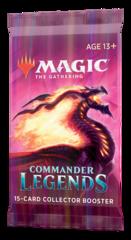Коллекционный бустер выпуска «Commander Legends» (на английском)