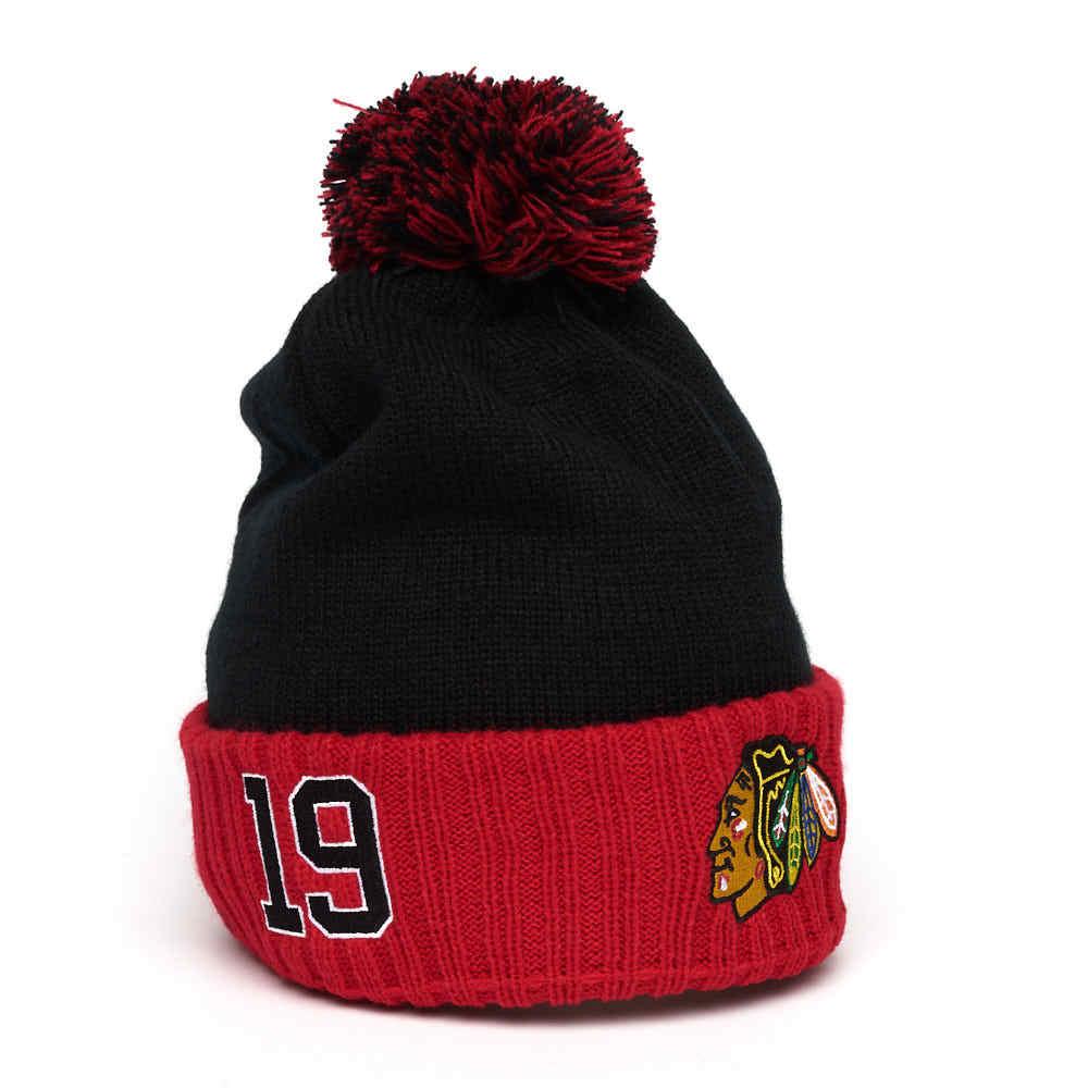 Шапка NHL Chicago Blackhawks № 19