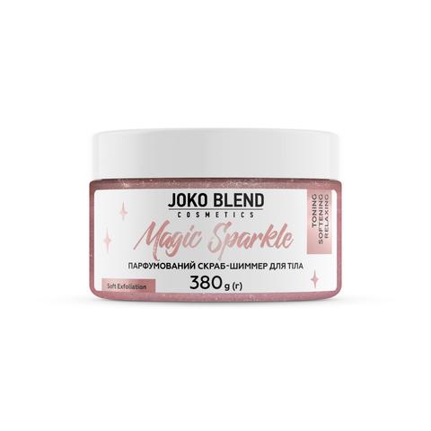 Парфумований cкраб для тіла з шиммером Magic Sparkle Joko Blend 380 г (2)