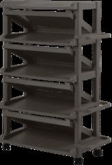 Полка для обуви с подставкой для зонтов WZ широкая