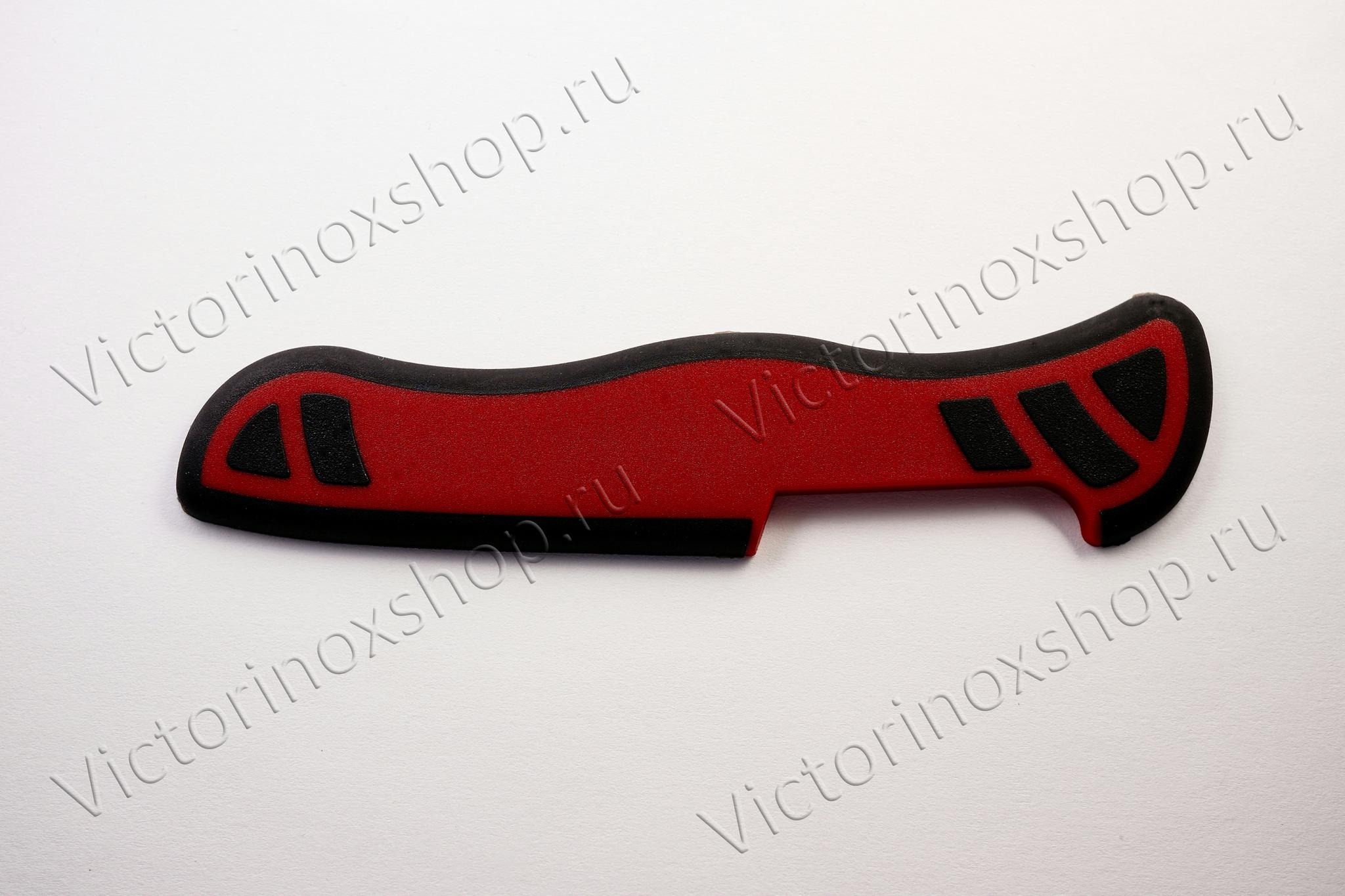 Задняя накладка для ножей VICTORINOX 111 мм, нейлоновая, красно-чёрная (C.8330.C2)