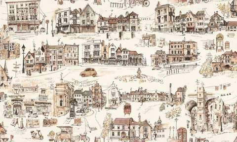 Обои Home Color Little town