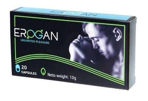 Возбуждающие капсулы для мужчин Erogan - 20 капсул (300 мг.)