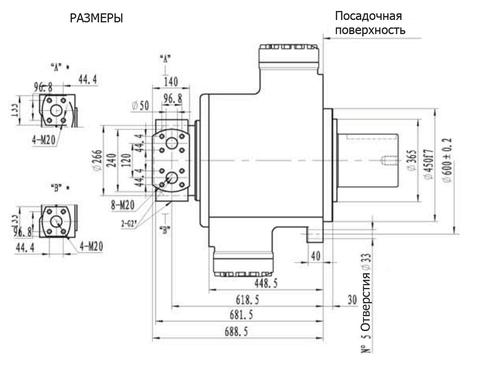 Гидромотор IPM11-11000