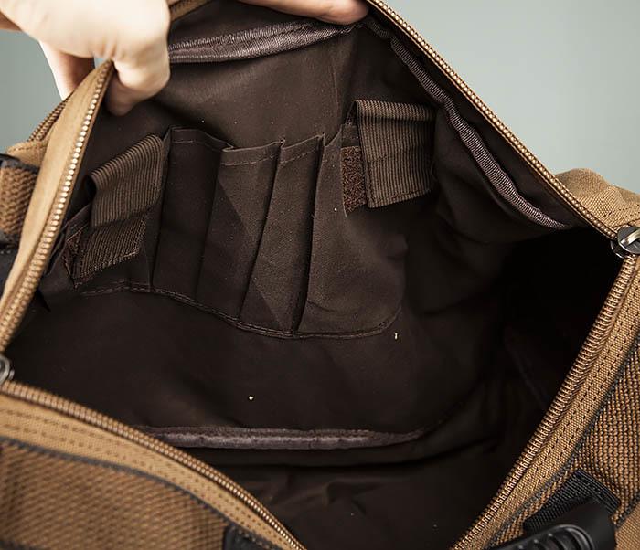 BAG365-2 Рюкзак-трансформер из плотного текстиля фото 14