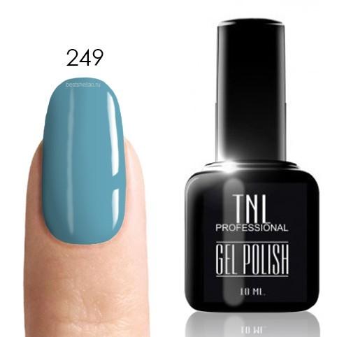 TNL Classic TNL, Гель-лак № 249 - ярко-голубой (10 мл) 249.jpg