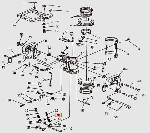 Кольцо стопорное для лодочного мотора T9.8 Sea-PRO (11-53)