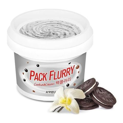 A'Pieu Pack Flurry Cookie And Cream маска-скраб Макфлури с печеньем