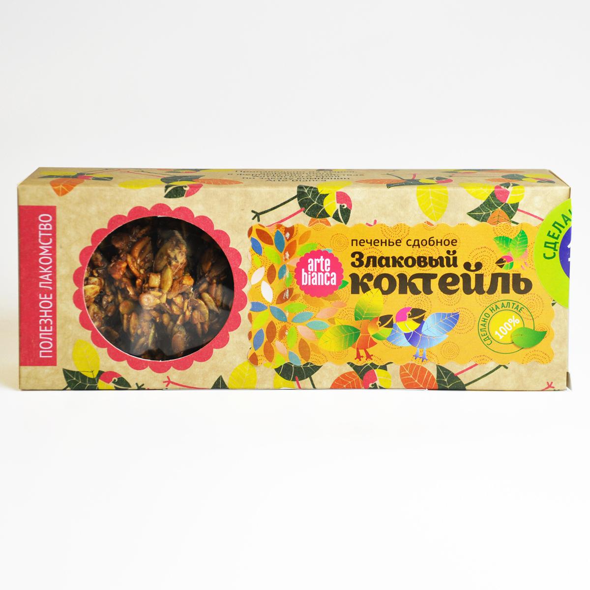Печенье сдобное Орехово-Злаковый коктейль
