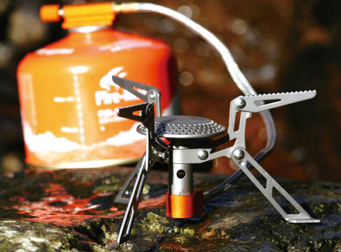 Картинка горелка туристическая Fire Maple Blade FMS-117T титановая  - 2