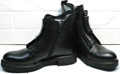 Женские ботинки демисезонные кожа  Tina Shoes 292-01 Black.