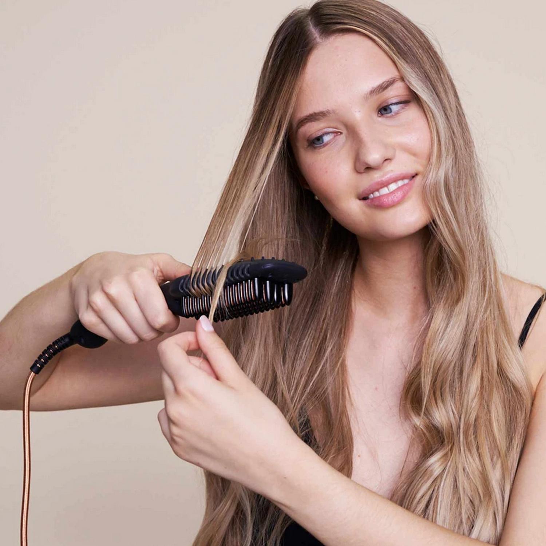 ikoo e-styler pro - beluga black | Профессиональный  стайлер для выпрямления волос и создания локонов (Черная белуга)