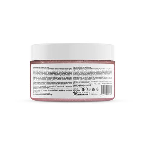 Парфумований cкраб для тіла з шиммером Magic Sparkle Joko Blend 380 г (4)
