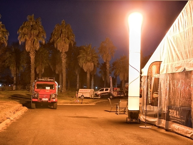 Световая башня EL (Т3-5) 600S с питанием от сети 220В без генератора